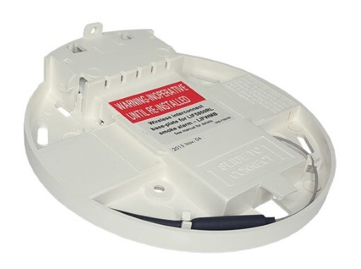 Wireless Interconnect Base for Lifesaver 5800RL Photoelectric Smoke Alarm