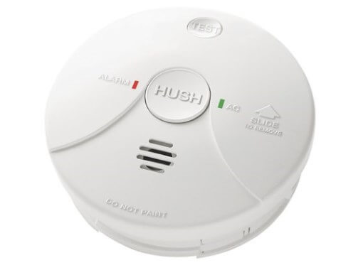 Lifesaver 5800RL 240V Photoelectric Smoke Alarm - Wired Interconnect