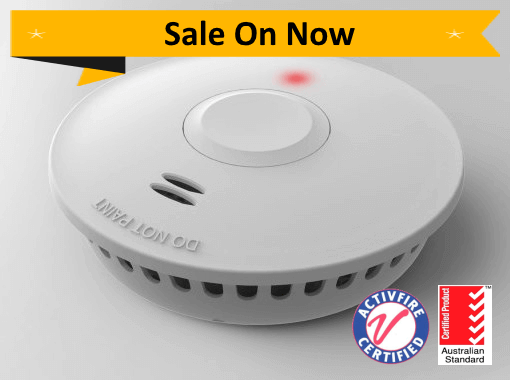 PSD-GS511E 10yr Battery Photoelectric Smoke Alarm - Wireless Interconnect Promotion