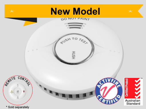 EP-Rang-RF-10 10yr Battery Photoelectric Smoke Alarm - Wireless Interconnect